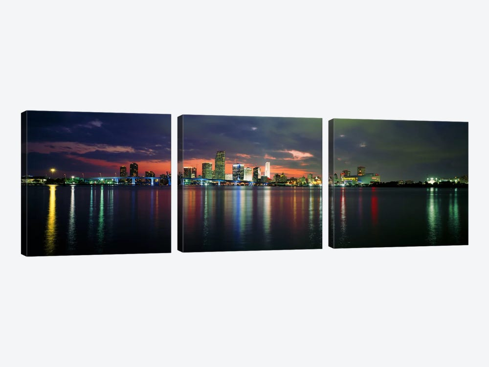 USA, Florida, Miami by Panoramic Images 3-piece Art Print