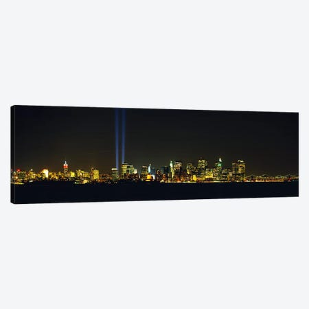 Tribute In Light, New York City, New York, USA Canvas Print #PIM3483} by Panoramic Images Canvas Artwork