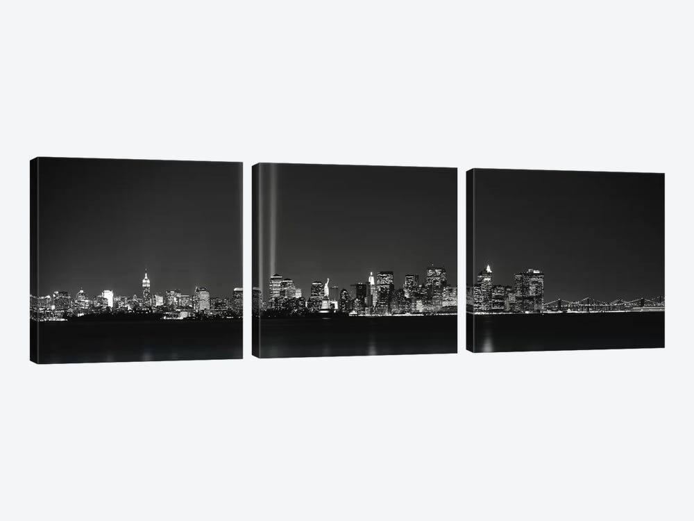 New York NY by Panoramic Images 3-piece Canvas Art Print