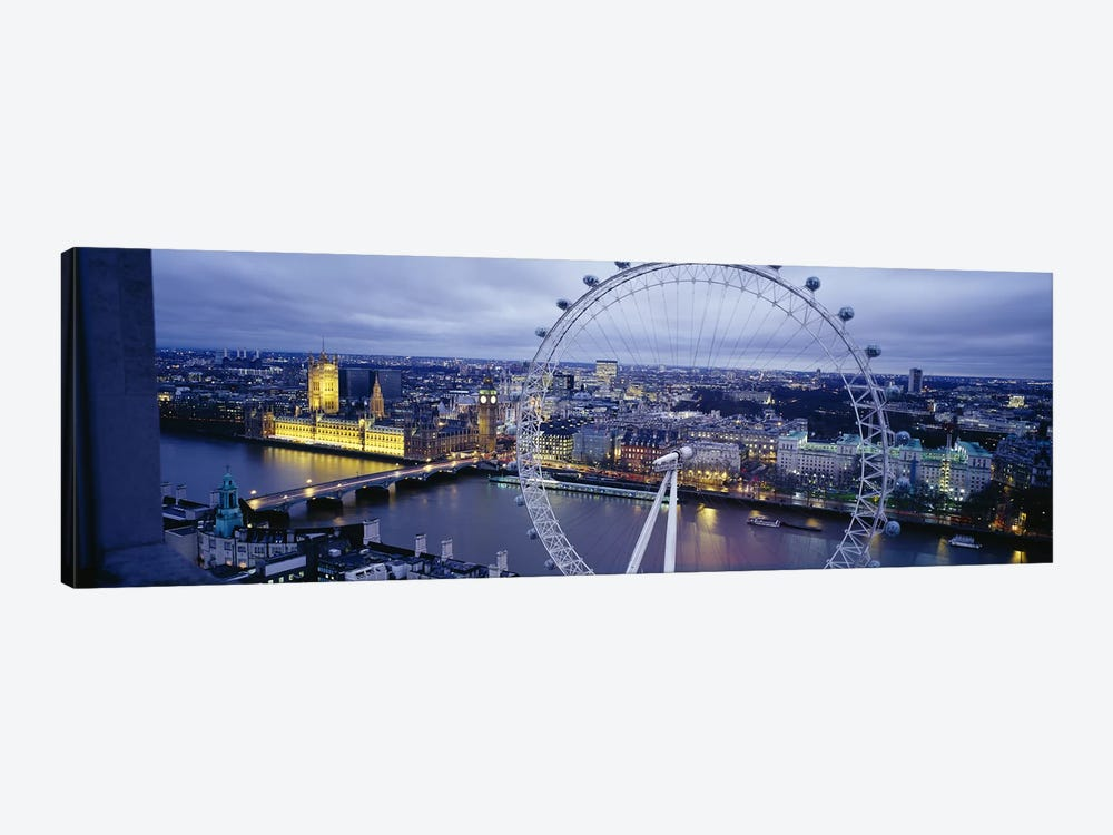 London Eye (Millennium Wheel), London, England, United Kingdom by Panoramic Images 1-piece Canvas Artwork