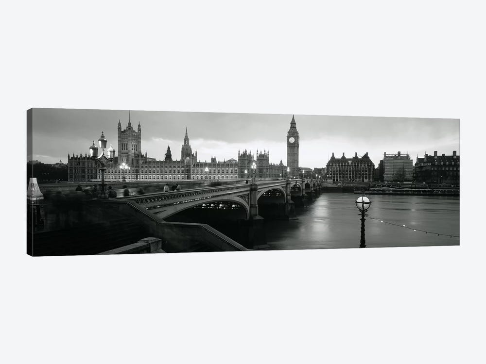 Westminster Bridge, London, England, United Kingdom by Panoramic Images 1-piece Canvas Art