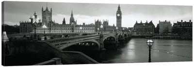 Westminster Bridge, London, England, United Kingdom Canvas Art Print