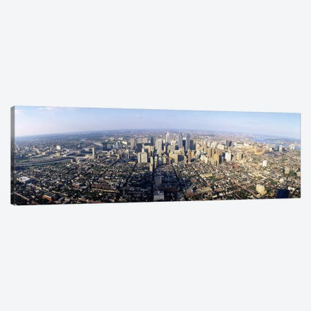 Aerial view of a city, Philadelphia, Pennsylvania, USA Canvas Print #PIM3491} by Panoramic Images Canvas Art Print