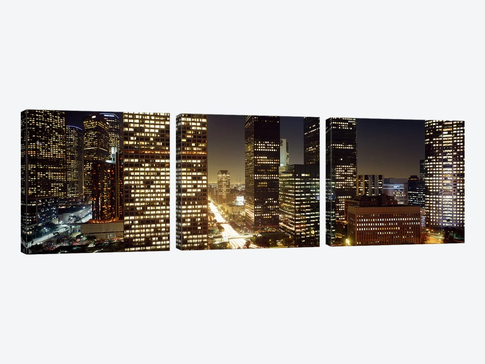 Los Angeles California USA by Panoramic Images 3-piece Canvas Artwork