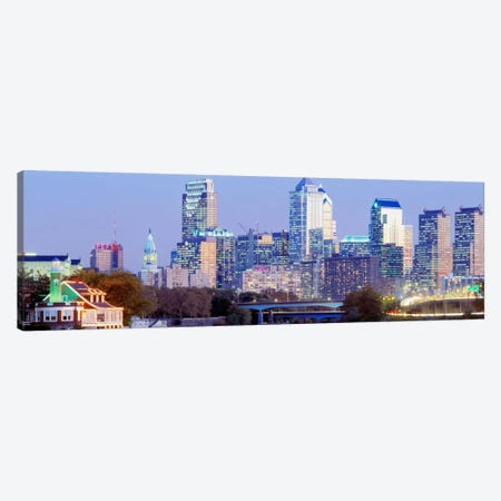 Philadelphia Pennsylvania USA Canvas Print #PIM3498} by Panoramic Images Art Print