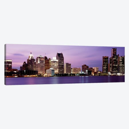 DetroitMichigan, USA Canvas Print #PIM3500} by Panoramic Images Art Print
