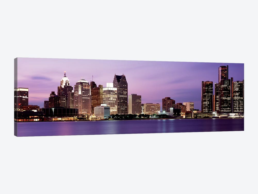 DetroitMichigan, USA by Panoramic Images 1-piece Canvas Artwork
