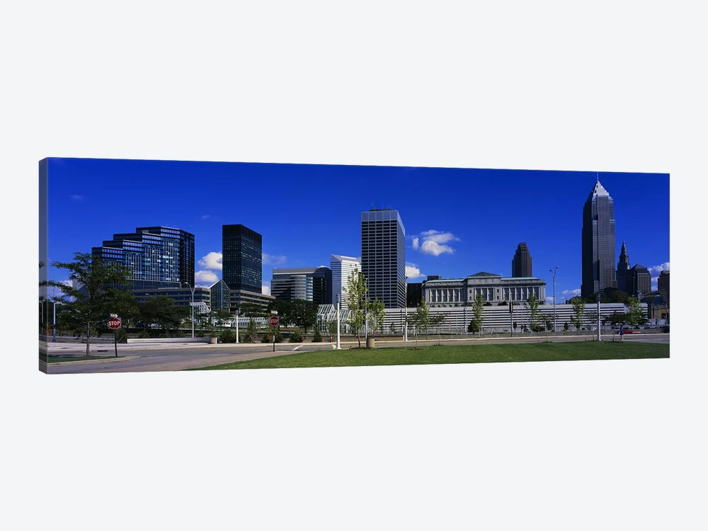 Buildings In A CityCleveland, Ohio, USA by Panoramic Images 1-piece Canvas Artwork
