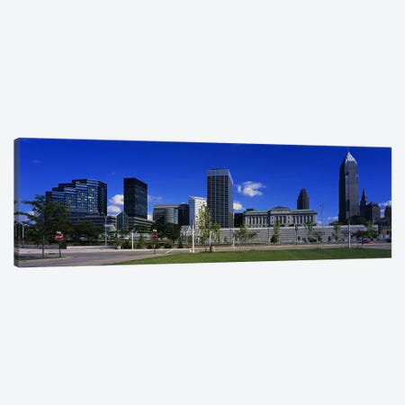 Buildings In A CityCleveland, Ohio, USA Canvas Print #PIM3502} by Panoramic Images Canvas Print