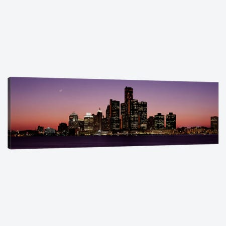DetroitMichigan, USA Canvas Print #PIM3503} by Panoramic Images Art Print