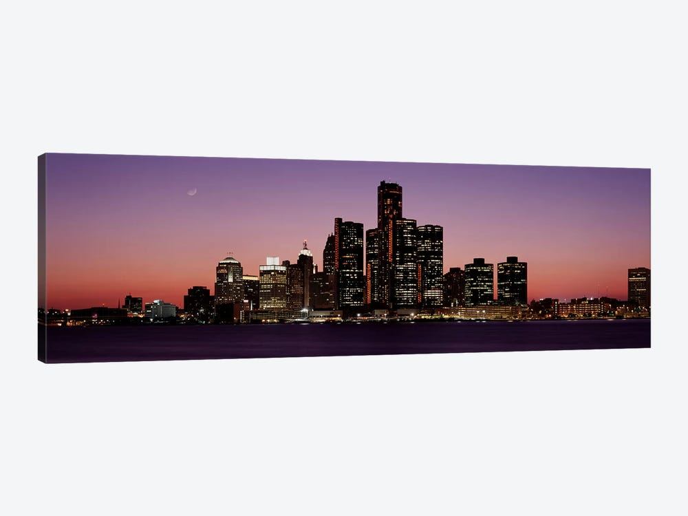 DetroitMichigan, USA by Panoramic Images 1-piece Canvas Print