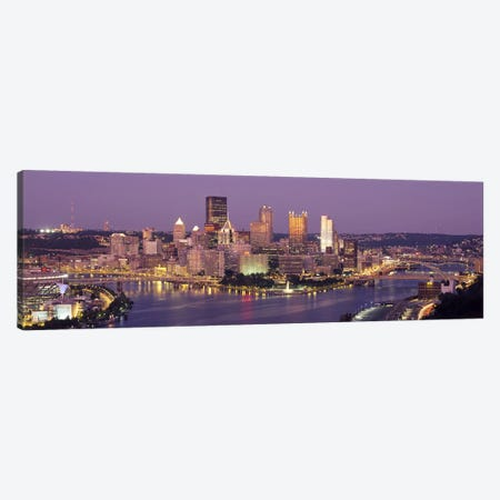 PittsburghPennsylvania, USA Canvas Print #PIM3505} by Panoramic Images Canvas Art
