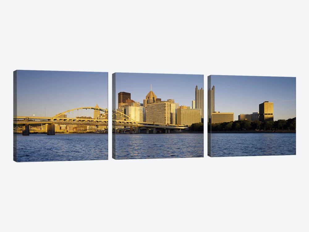 PittsburghPennsylvania, USA by Panoramic Images 3-piece Canvas Artwork