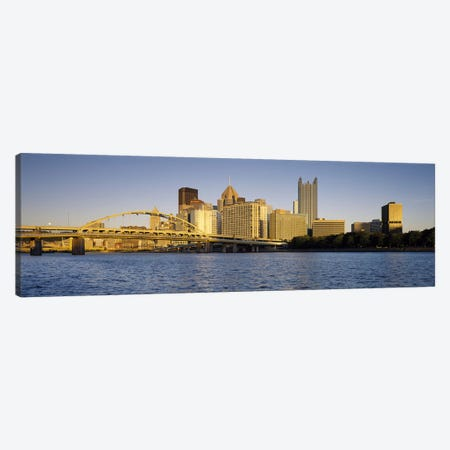 PittsburghPennsylvania, USA Canvas Print #PIM3506} by Panoramic Images Canvas Wall Art