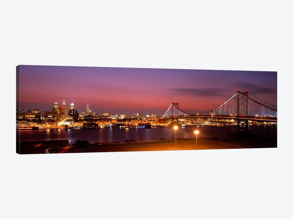 Philadelphia PA by Panoramic Images 1-piece Canvas Art Print