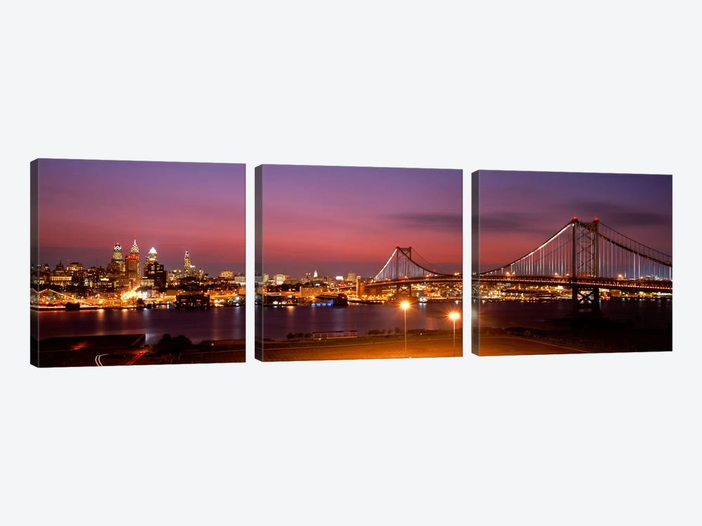 Philadelphia PA by Panoramic Images 3-piece Art Print