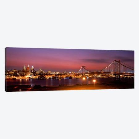 Philadelphia PA Canvas Print #PIM3512} by Panoramic Images Canvas Artwork