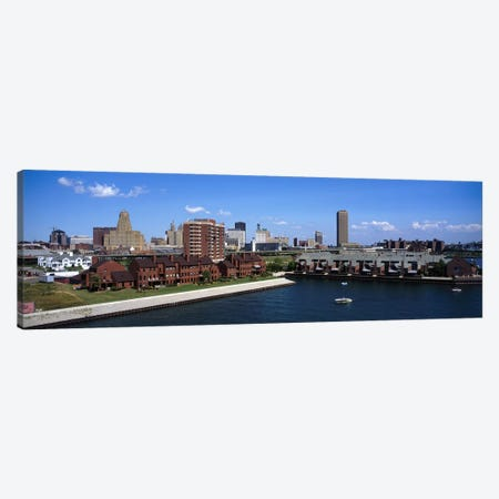 Buffalo NY Canvas Print #PIM3516} by Panoramic Images Art Print