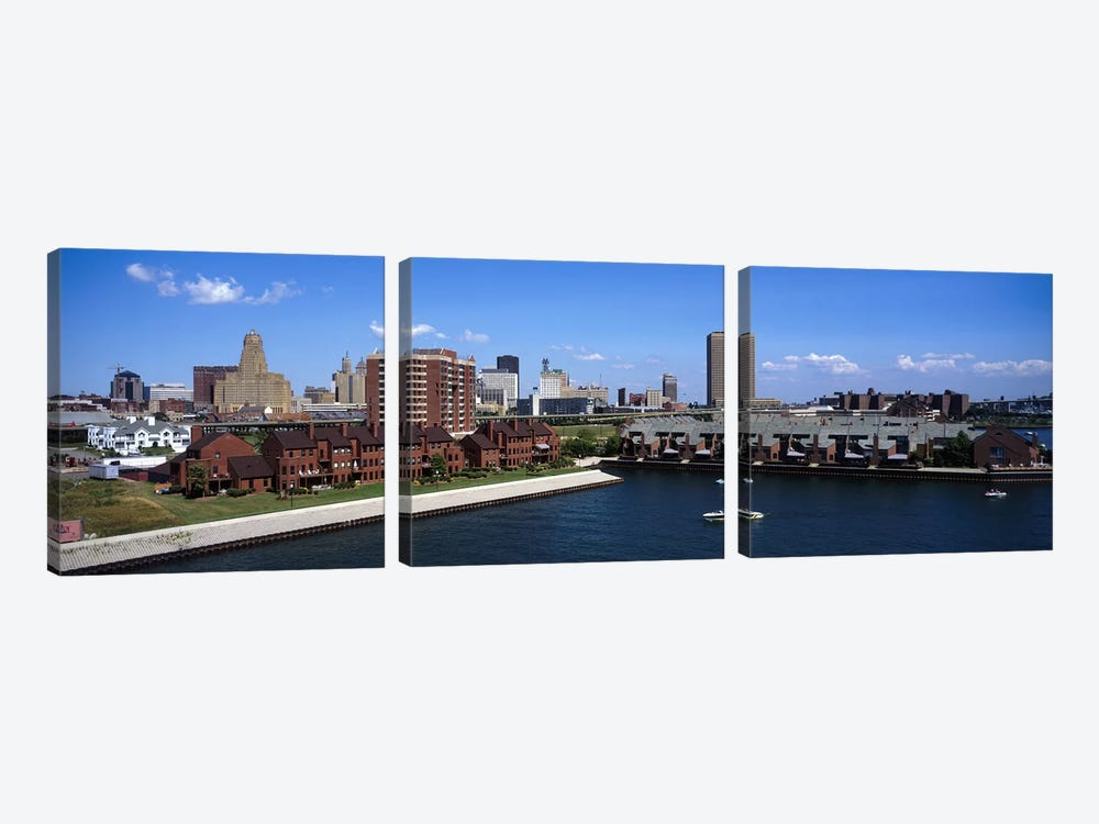 Buffalo NY by Panoramic Images 3-piece Canvas Art Print
