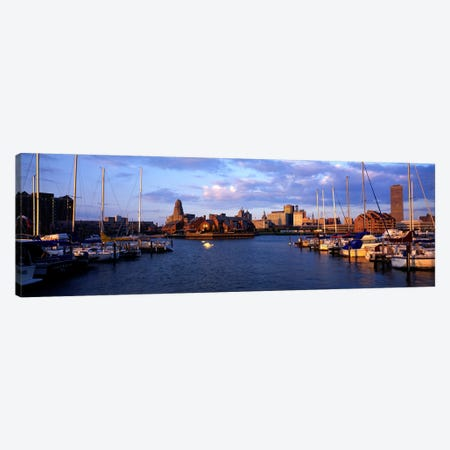 Buffalo NY Canvas Print #PIM3517} by Panoramic Images Canvas Print