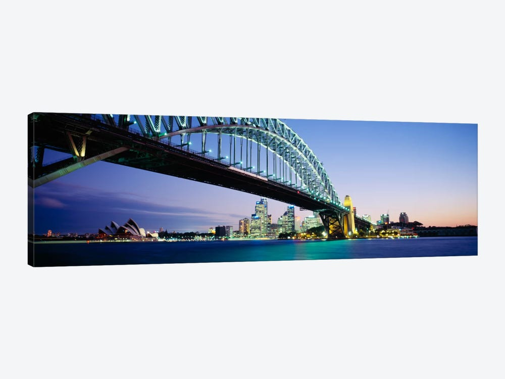 Low angle view of a bridge, Sydney Harbor Bridge, Sydney, New South Wales, Australia by Panoramic Images 1-piece Canvas Art