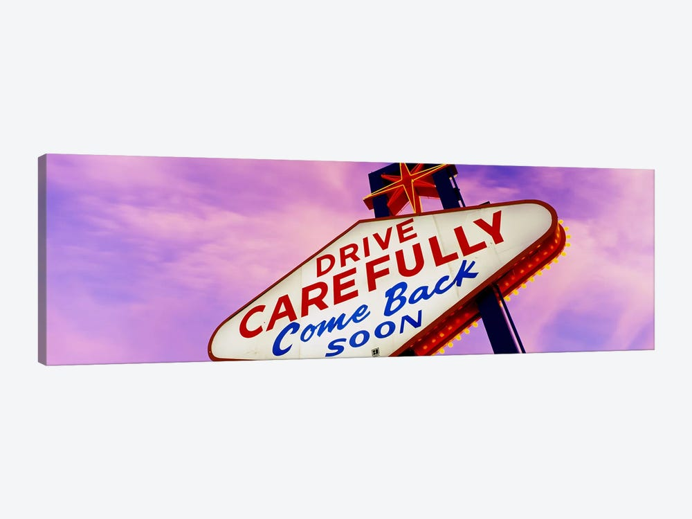 SignLas Vegas Nevada, USA by Panoramic Images 1-piece Canvas Art
