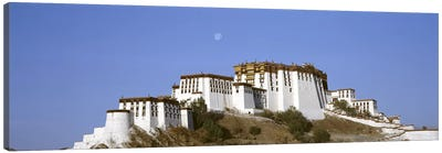 Potala Palace Lhasa Tibet Canvas Print #PIM3521