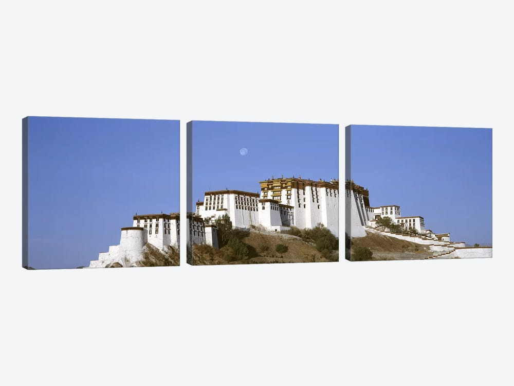 Potala Palace Lhasa Tibet by Panoramic Images 3-piece Canvas Art Print