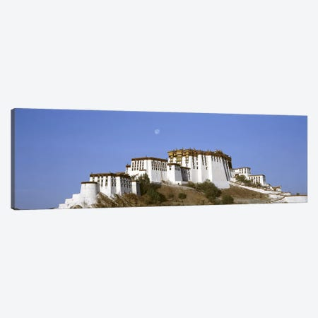 Potala Palace Lhasa Tibet Canvas Print #PIM3521} by Panoramic Images Art Print