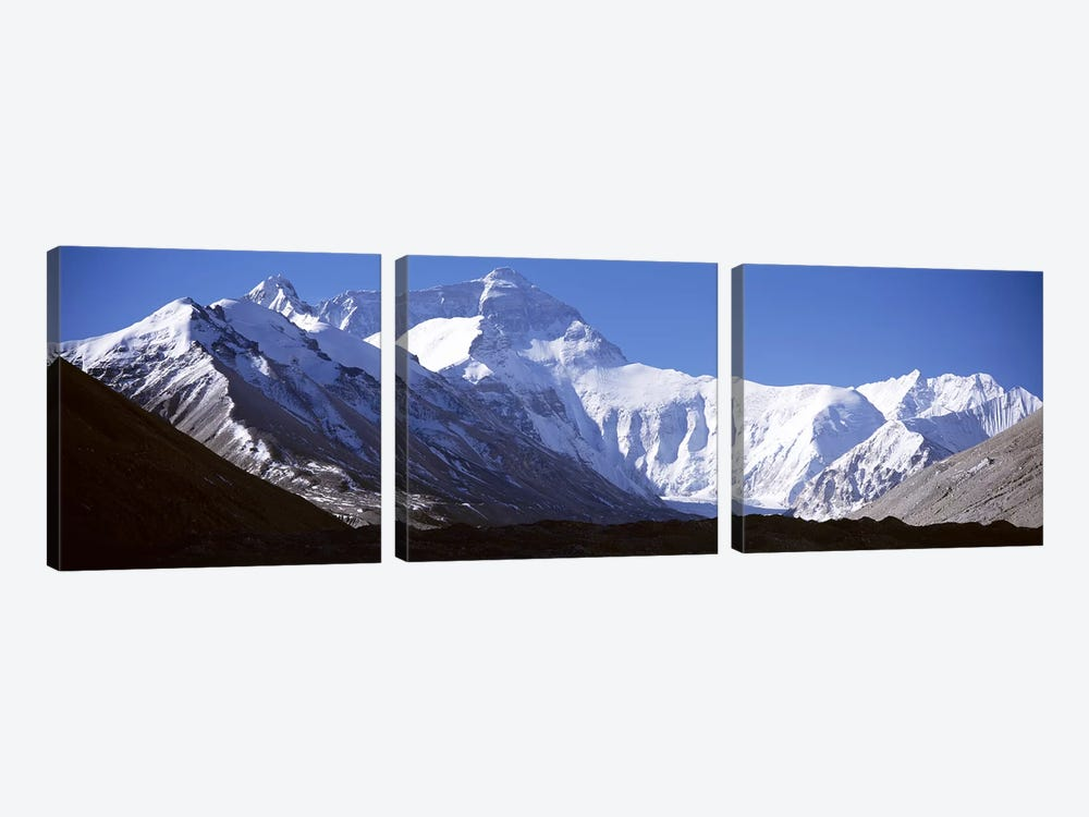 Mount Everest by Panoramic Images 3-piece Canvas Artwork