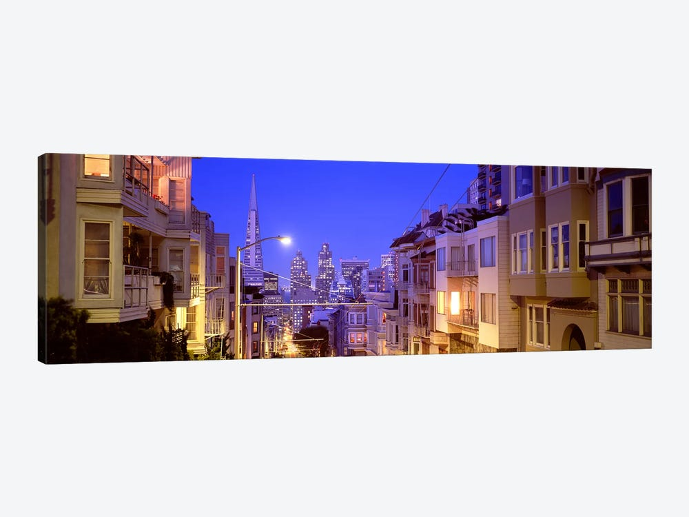 San Francisco CA by Panoramic Images 1-piece Canvas Print