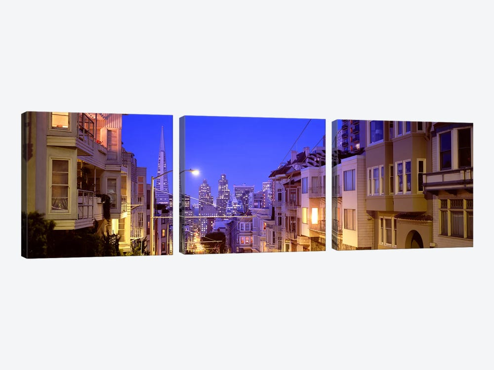 San Francisco CA by Panoramic Images 3-piece Art Print