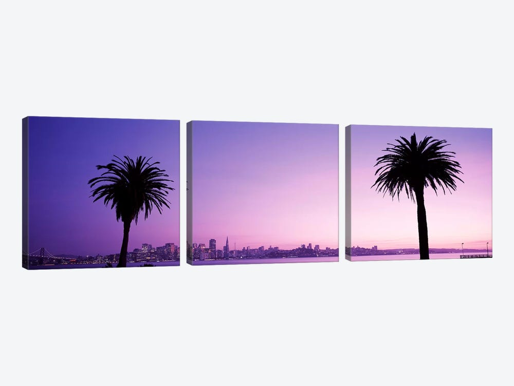 San Francisco, California, USA #2 by Panoramic Images 3-piece Canvas Wall Art