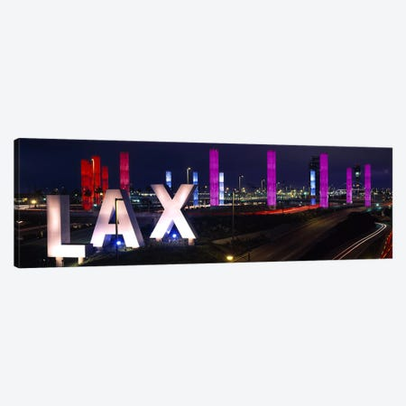 Los Angeles Intl Airport Los Angeles CA Canvas Print #PIM3531} by Panoramic Images Canvas Art