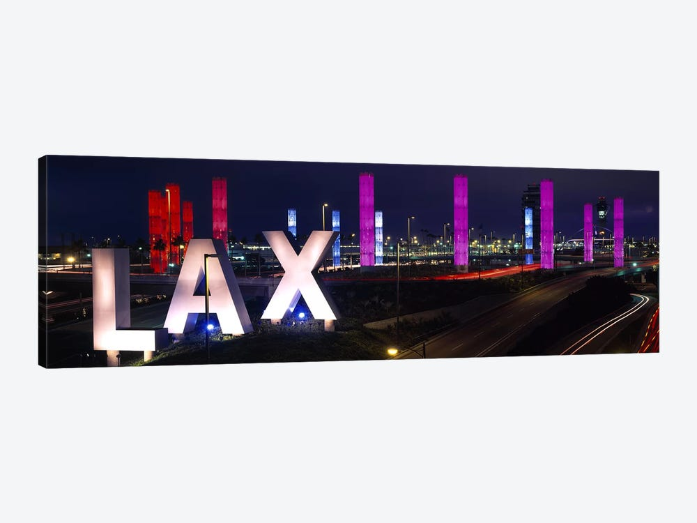Los Angeles Intl Airport Los Angeles CA by Panoramic Images 1-piece Canvas Wall Art