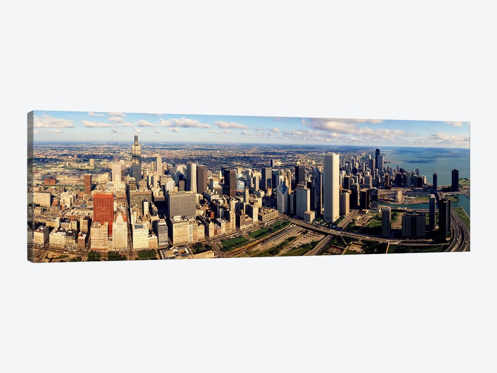 Aerial Chicago IL by Panoramic Images 1-piece Canvas Art