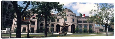 Facade of a building, Texas State History Museum, Austin, Texas, USA Canvas Print #PIM3542