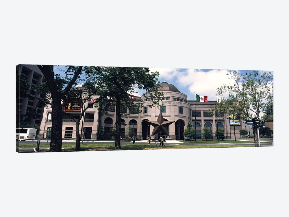 Facade of a building, Texas State History Museum, Austin, Texas, USA by Panoramic Images 1-piece Canvas Art