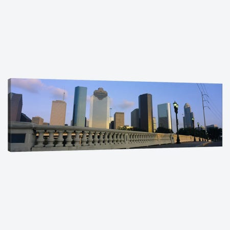 Low Angle View Of Buildings, Houston, Texas, USA Canvas Print #PIM3544} by Panoramic Images Canvas Artwork