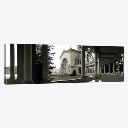 Pavilion in a park, Balboa Park, San Diego, California, USA Canvas Print #PIM3551} by Panoramic Images Canvas Art