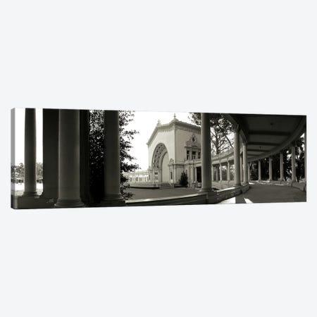 Pavilion in a park, Balboa Park, San Diego, California, USA Canvas Print #PIM3551} by Panoramic Images Canvas Art