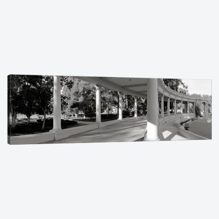 Pavilion in a park, Balboa Park, San Diego, California, USA #2 Canvas Print #PIM3552} by Panoramic Images Canvas Art