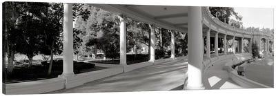 Pavilion in a park, Balboa Park, San Diego, California, USA #2 Canvas Print #PIM3552