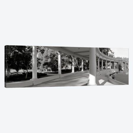 Pavilion in a park, Balboa Park, San Diego, California, USA #2 Canvas Print #PIM3552} by Panoramic Images Canvas Art