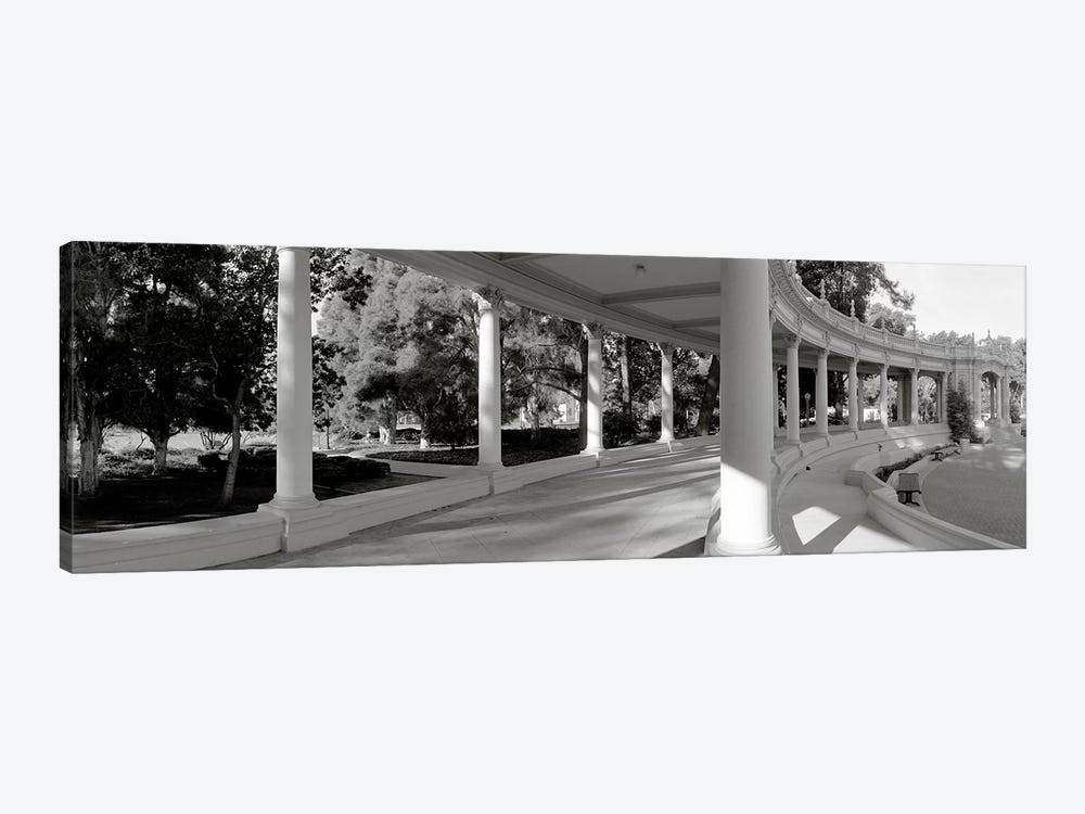 Pavilion in a park, Balboa Park, San Diego, California, USA #2 by Panoramic Images 1-piece Canvas Print