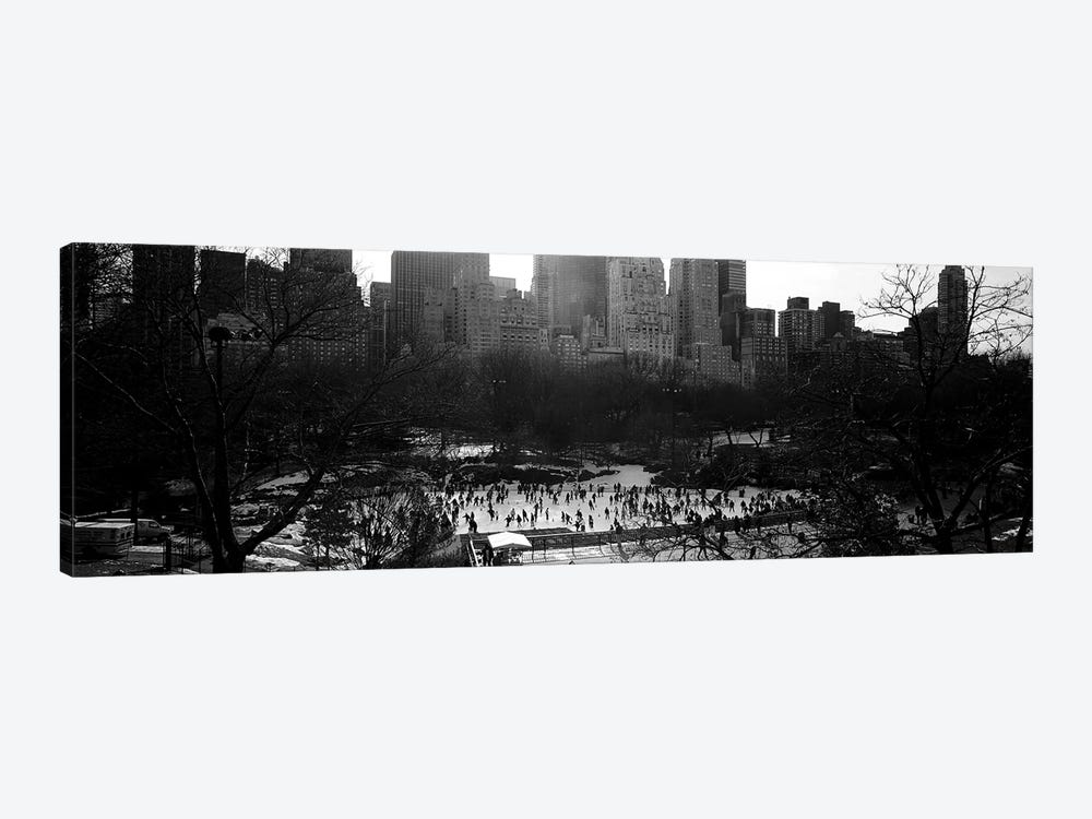 Wollman Rink, Central Park, Manhattan, New York City, New York, USA by Panoramic Images 1-piece Canvas Art