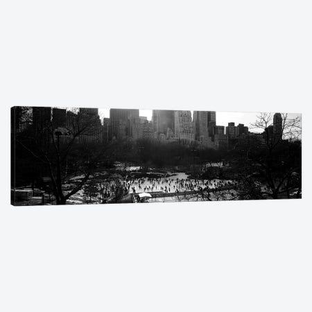 Wollman Rink, Central Park, Manhattan, New York City, New York, USA Canvas Print #PIM3555} by Panoramic Images Art Print