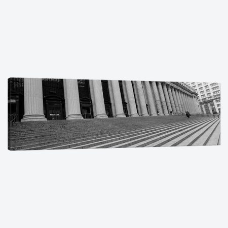Courthouse StepsNYC, New York City, New York State, USA Canvas Print #PIM3557} by Panoramic Images Art Print