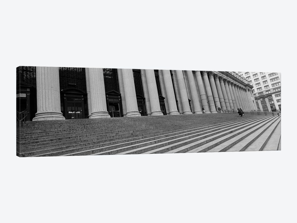 Courthouse StepsNYC, New York City, New York State, USA by Panoramic Images 1-piece Canvas Wall Art