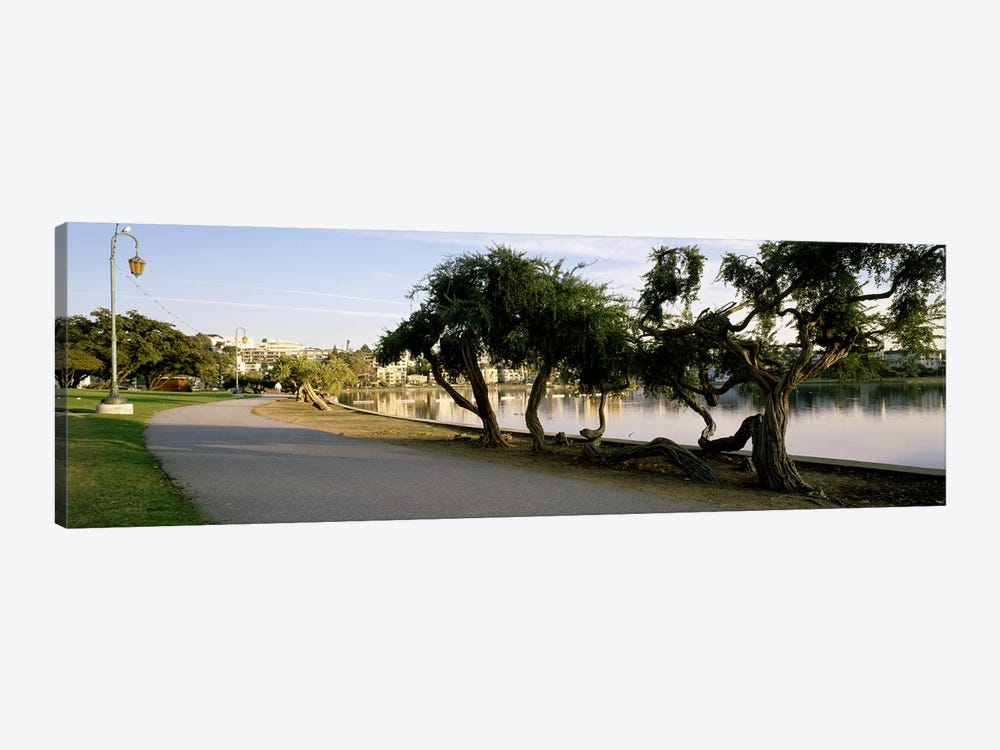 USA, California, Oakland, Path by Panoramic Images 1-piece Canvas Art Print